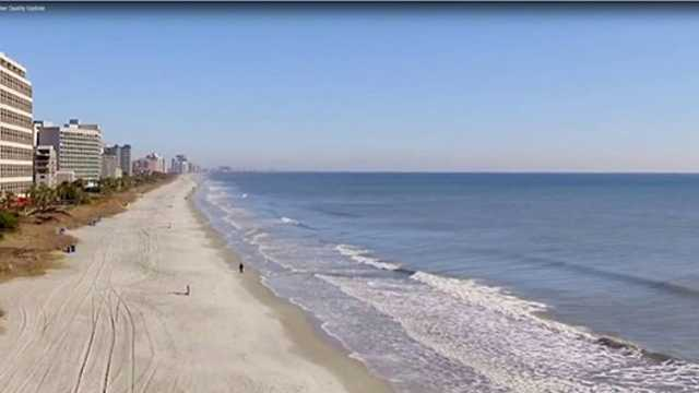 Myrtle Beach Area Beaches Test Safe For Swimming Social Media Buzz False