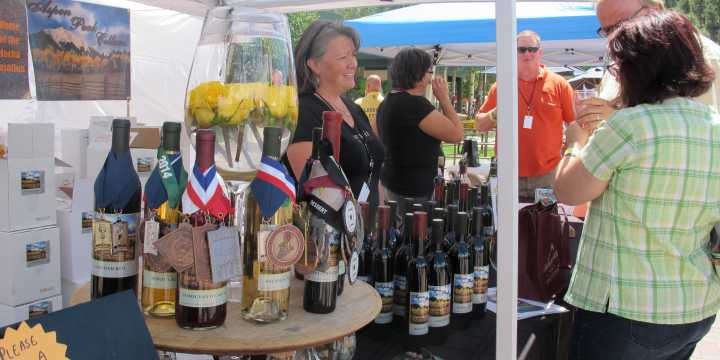 Estes park wine festival for Wine and painting mn