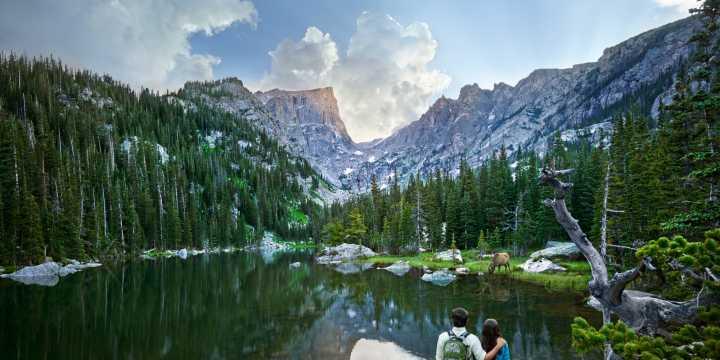 Rocky Mountain National Park Estes park Colorado