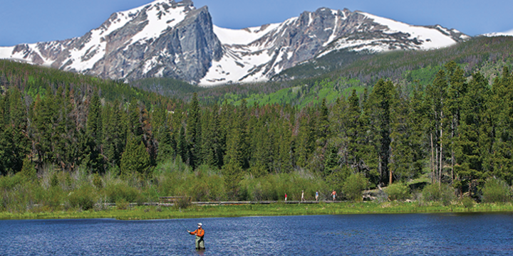 Rocky mountain national park fishing locations for Ice fishing cabins alberta