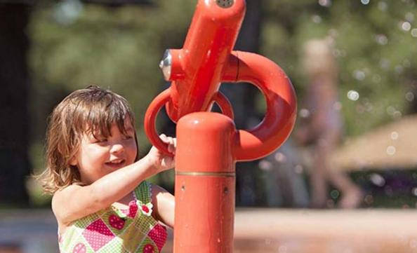 Splash Pads - 14 GIFs to Get Excited About Summer in Spokane