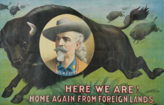 "Portrait of William F. ""Buffalo Bill"" Cody."