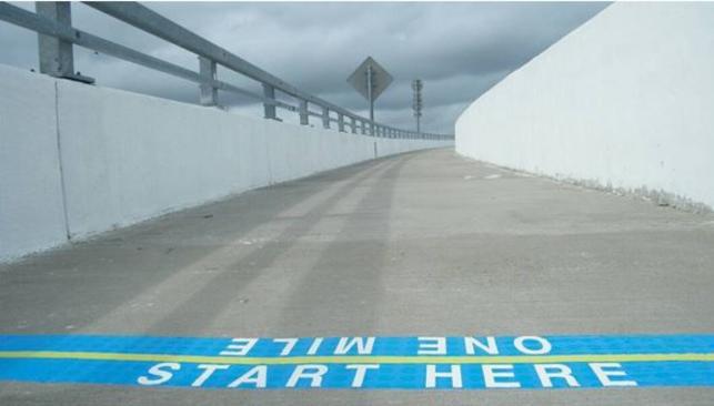 Starting Line at South Norfolk Jordan Bridge