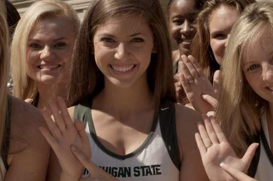Michigan State University Cheerleaders