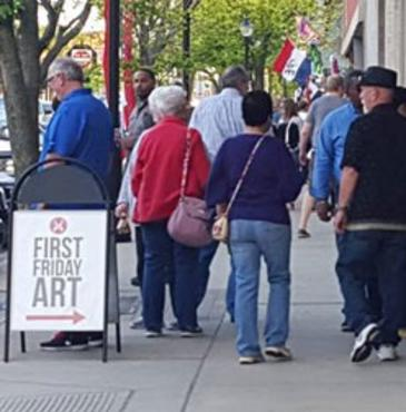 Michigan City First Friday Art Walk