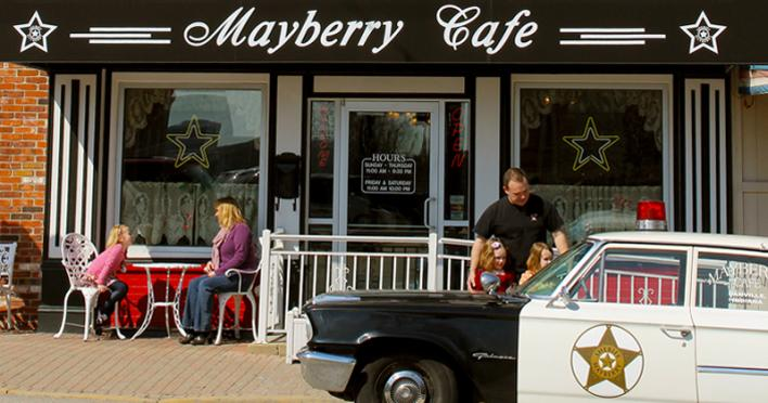 Mayberry with Blogger