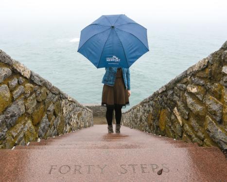 Rainy Day in Newport