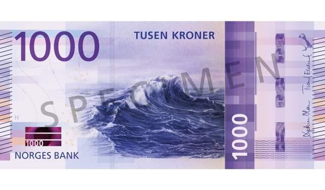 1000 kroner (forside / obverse side)