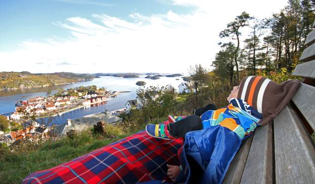 Varbak Viewpoint Farsund Norway