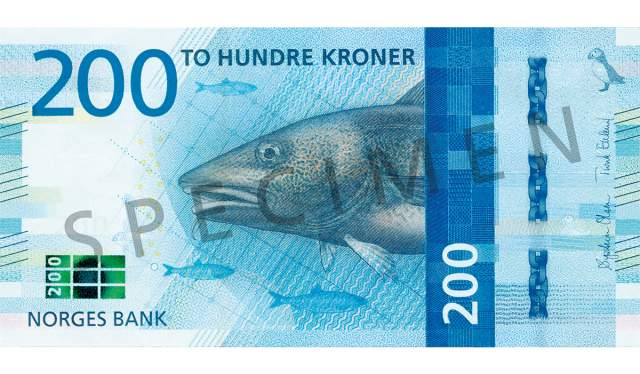 200 kroner (forside /obverse side)