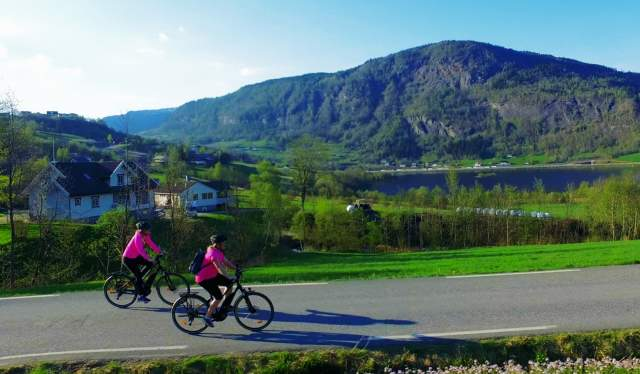 Cycling in Voss