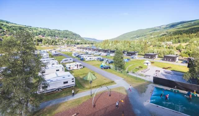Camping in Hallingdal Feriepark, Ål in Hallingdal