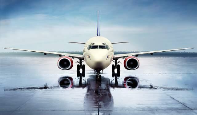 SAS aircraft landed
