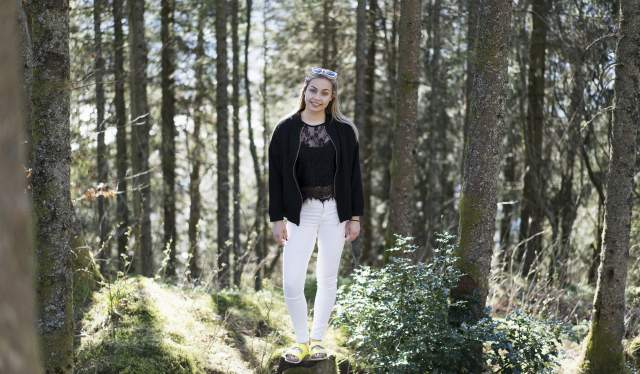 Amanda Schei, Bergen