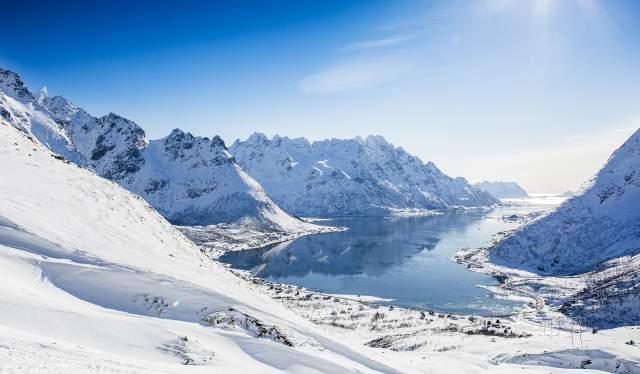 Austnes Fjord, Lofoten Islands