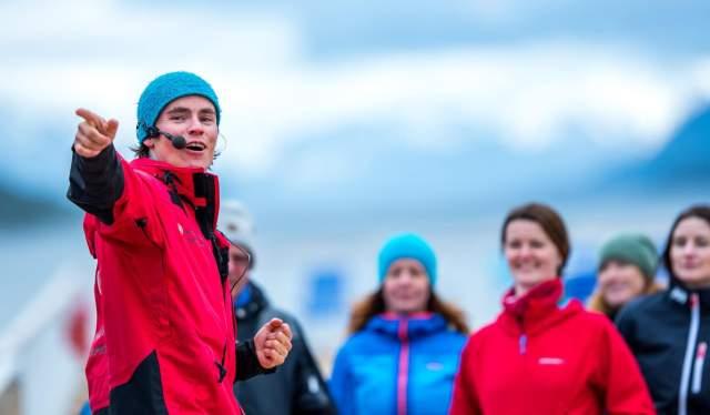 L'équipe d'expédition de Hurtigruten