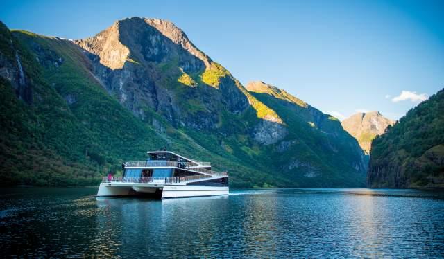 Cruise on Nærøyfjord