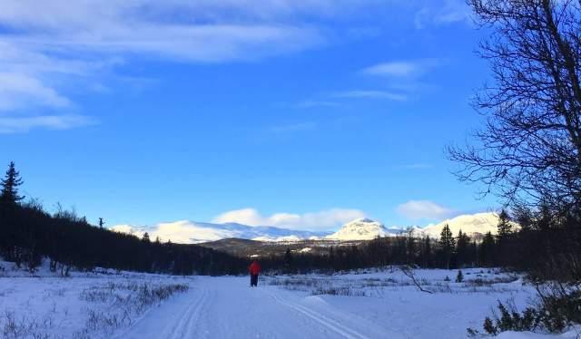 Skitur på Votndalsåsen, Ål i Hallingdal