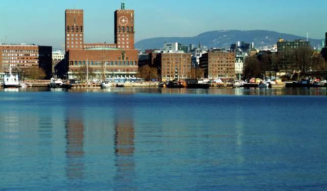 Здание ратуши в Осло