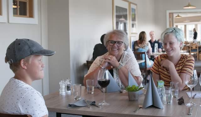 Dinner at restaurant Scandic Sørlandet