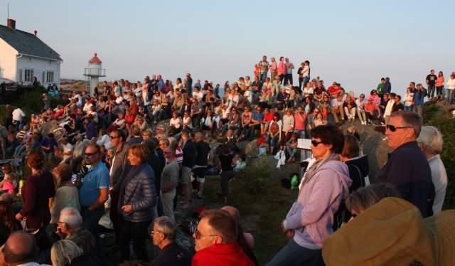 Outdoor concert at Stangholmen