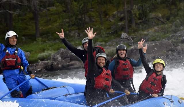 Rafting med Dagali Opplevelser