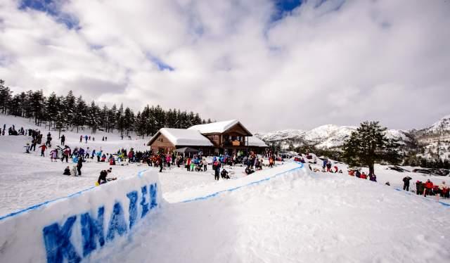 Knaben Skisenter southern Norway