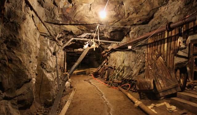 Knaben mining town Kvinesdal southern Norway