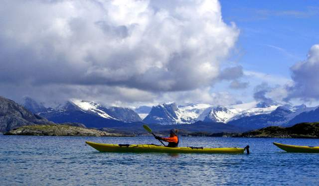 Kayaking, Northern Norway