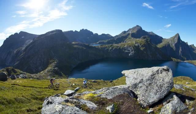 Tennesvatnet, Moskenes, Lofoten
