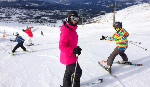 Skiing, Trysil