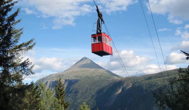Krossobanen, Rjukan