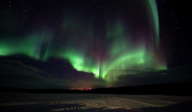 Northern lights at Kautokeino, Finnmark, Aurora borealis