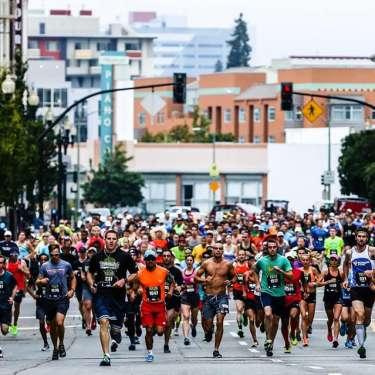 The Town's Half Marathon