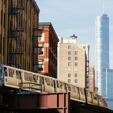 Elevated train