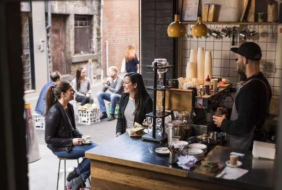 A Melbourne Laneway Cafe