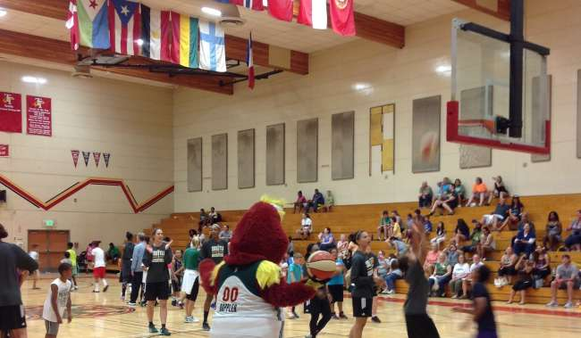 Storm Basketball Event at Tyee High School