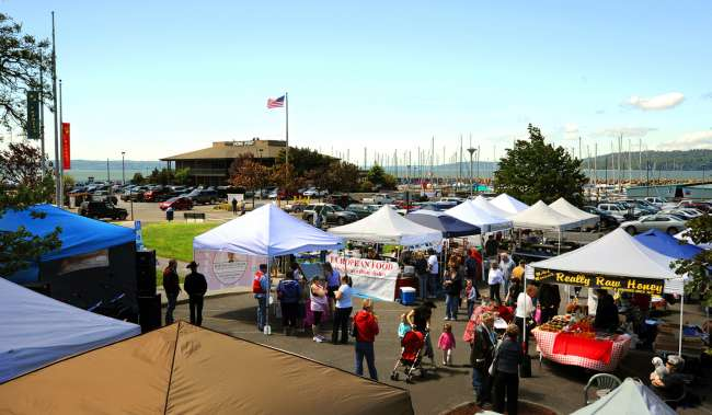 Des Moines Farmers Market Tents