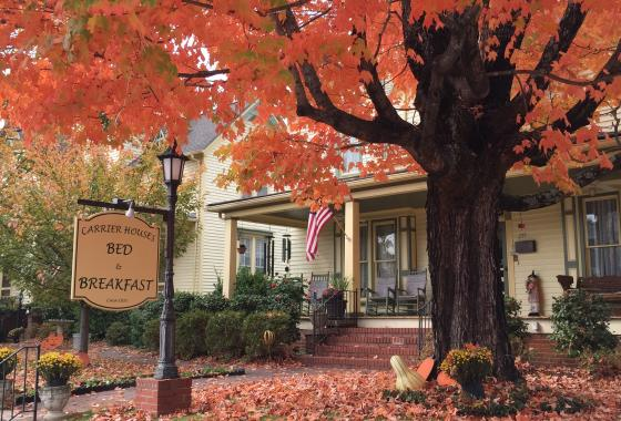 Carrier House B&B Fall Getaway