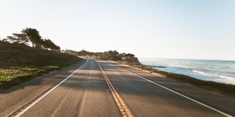 Highway 1 in Cambria