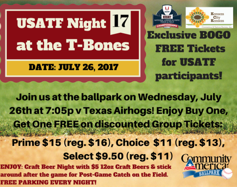 USATF Night @ T-Bones