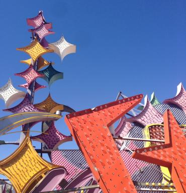 The Neon Museum in Downtown Las Vegas