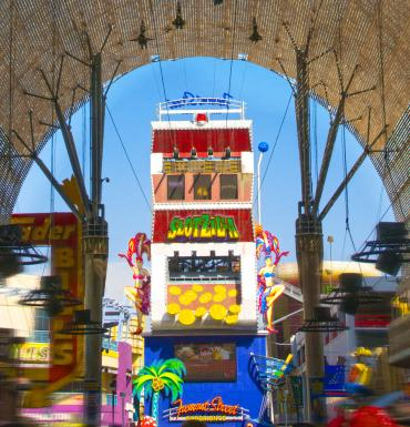 SlotZilla Zip Line at Fremont Street Experience