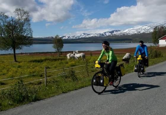 Cycling in Tromsø