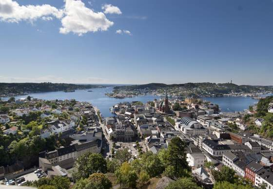 View over Arendal