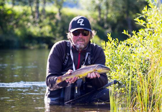 Guided fly-fishing trips with Trond Hagen in Hemsedal, Norway