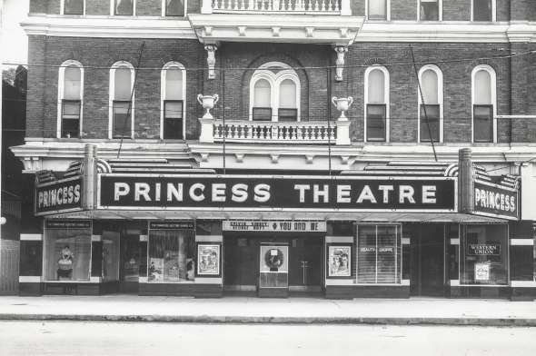 Princess Theatre old opera house 1885