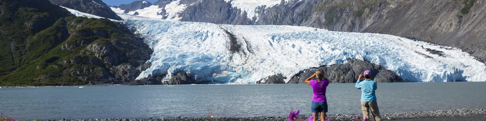 Portage Glacier view for Anchorage hikers
