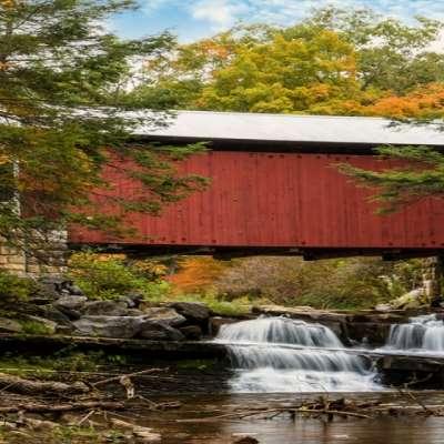 Rusty Glessner, Pack Saddle Bridge, Somerset County