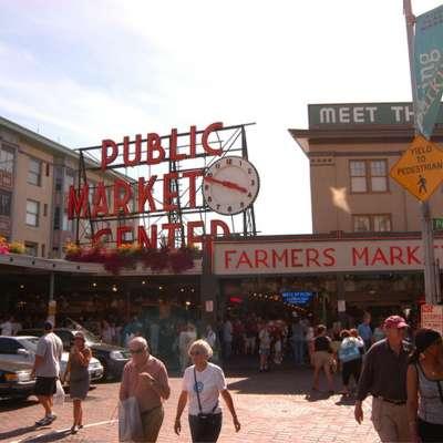 Pike Place Market Entrance